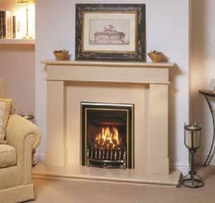 Valor Gas Fires and Wall Heaters -  Valor Visage 2 Gas Fire Ng Black