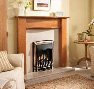 Valor Gas Fires and Wall Heaters -  Valor Homeflame Dream Ng He Fire Black