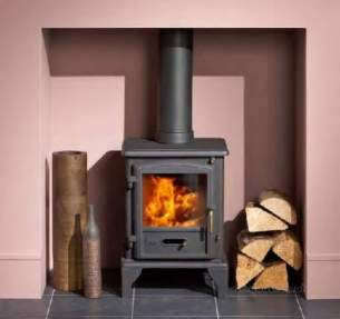 Baxi Solid Fuel Stoves -  Valor Brunswick Multifuel Stove 0591031