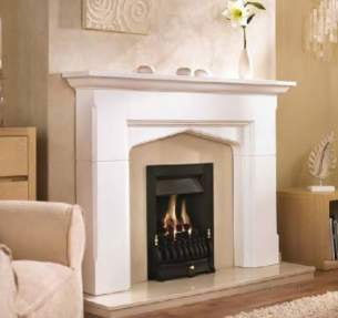 Valor Gas Fires and Wall Heaters -  Valor Blenheim Slimline Gas Fire Chrome