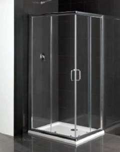 Eastbrook Showers -  Cotswold Vantage Offset 1000 X 800 Silver