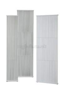 Stelrad Design Decorative Radiators -  Vistaline 3 Radiator 1800 X 620 White