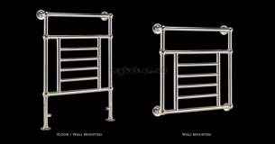 Vogue Uk Towel Warmers -  Legacy 3 Towel Warmer Lg003a Br093067ag