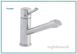 Astracast Brassware -  Voyager Tp0725 Single Lvr Monobloc Tap Ps