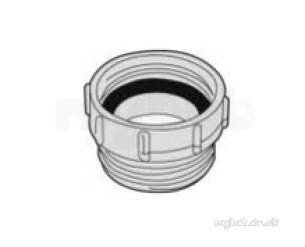 Polypipe Waste and Traps -  40mm X 40mm Waste To Trap Connector Wtc4