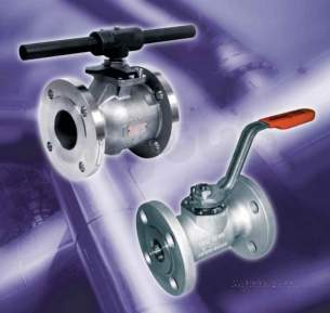Worcester Flanged Ball Valves -  Worcester F519 Ss Fb Cl.150 Ball Valve 40