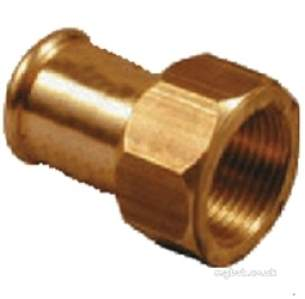 Xpress Copper and Solar Fittings -  Xpress Cu S68ff Ff Union Adaptor 15x3/4