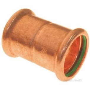 Xpress Copper and Solar Fittings -  Pegler Yorkshire Solar Sr1 15mm Press Coupling