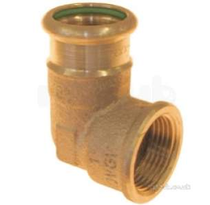 Xpress Copper and Solar Fittings -  Solar Sr14 22x3/4 Press Female Elbow