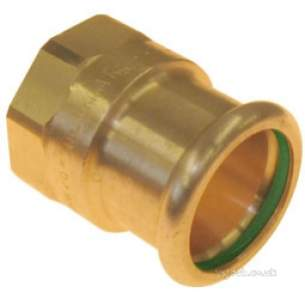 Xpress Copper and Solar Fittings -  Solar Sr2 54x2 Press Female Coupling