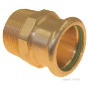 Xpress Copper and Solar Fittings -  Xpress Solar Sr3 Mi Str Connctr 35x1.1/4