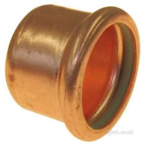 Xpress Copper and Solar Fittings -  Solar Sr61 42mm Press Stop End 38700r