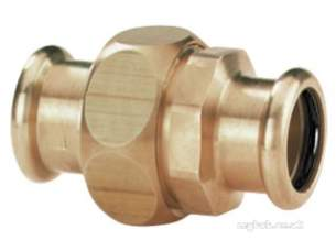 Xpress Copper and Solar Fittings -  Xpress Cu S11 Union Coupling 28 38182
