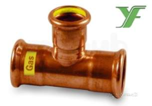 Xpress Copper and Solar Fittings -  Xpress Cu Gas Sg24 Equal Tee 76 39362