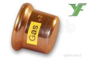 Xpress Copper and Solar Fittings -  Xpress Cu Gas Sg61 Stop End 108 39393