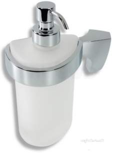 Metal Znojmo Nova Bathroom Accessories -  Nova 5 Soap Dispenser Chrome 6555.0