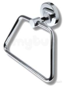 Metal Znojmo Mephisto Bathroom Accessories -  Mephisto Towel Holder Chrome 6803