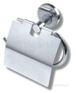 Metal Znojmo Mephisto Bathroom Accessories -  Mephisto Toilet Roll Holder Chrome 6838