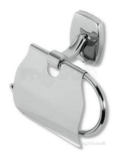 Metal Znojmo Orfeus Bathroom Accessories -  Orfeus Toilet Roll Holder Chrome 6938