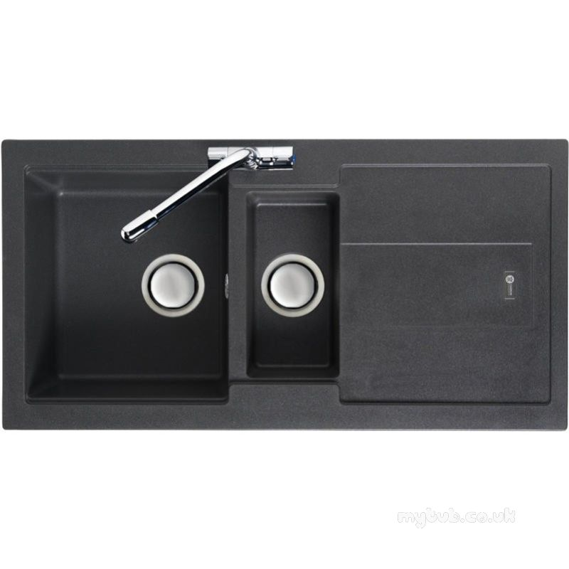 Carron Trade Sinks - Graphite Bali Reversible Kitchen Sink With ...