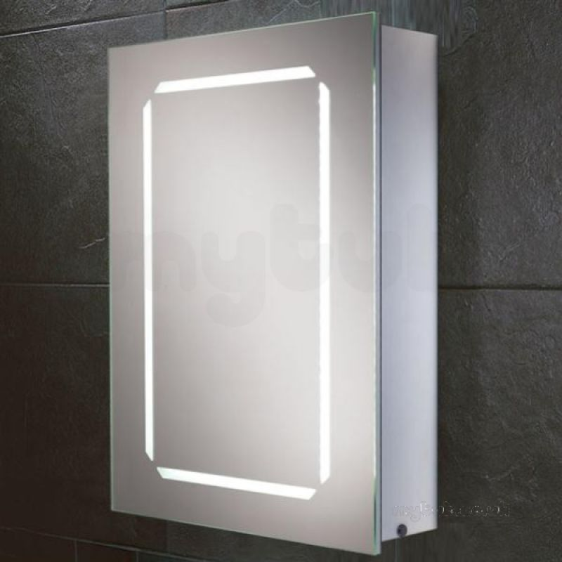 Cosmic steam free bathroom double sided mirrored bathroom for Bathroom cabinets glass