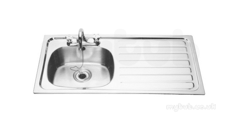 Franke Sissons 1015x505 Right Hand Sink Bowl Inset Sink