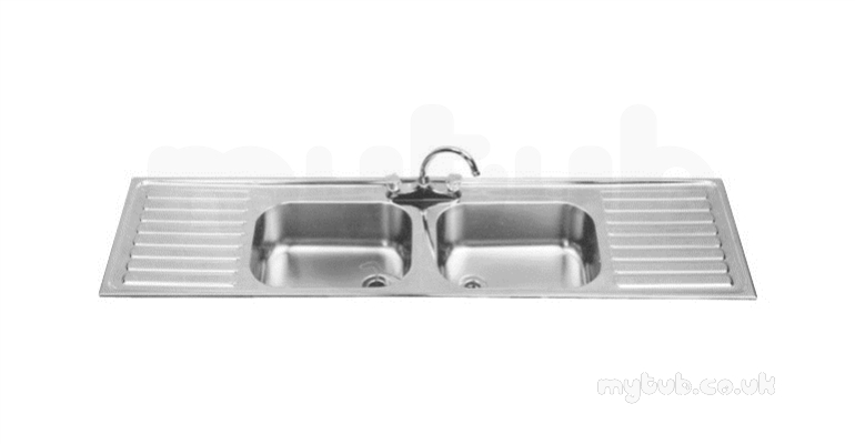 Sissons Stainless Steel Sinks : Sissons Stainless Steel Products - B20087d 1800 X 500 Dbdd Rh Inset ...