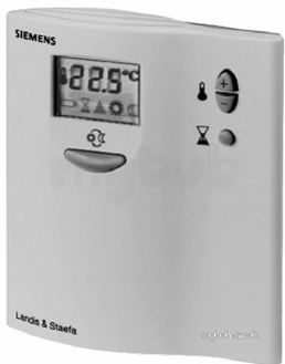 Siemens Rdd10 1 Electric Room Thermostat With Battery