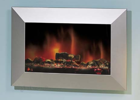 Sp4 Plasma Style Wall Mounted Elec Fire Dimplex