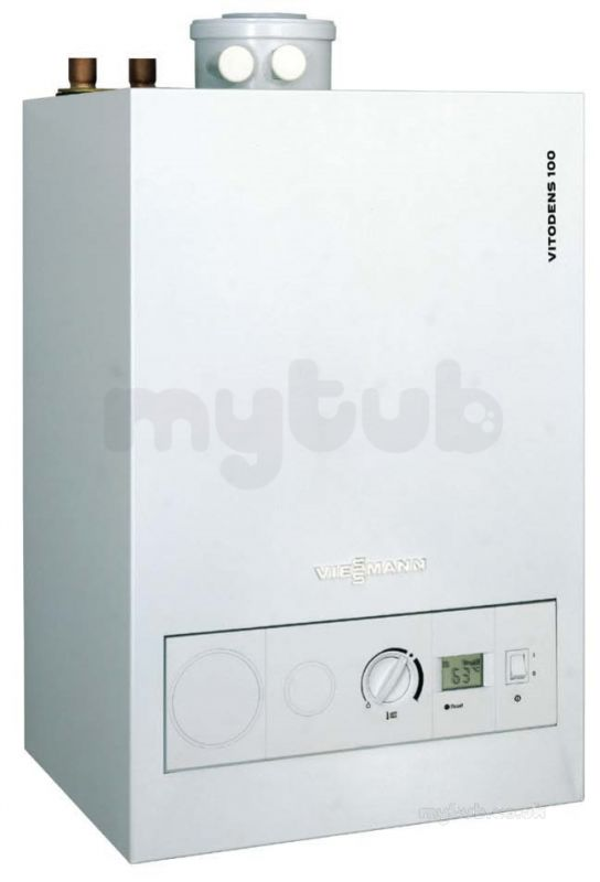 Vitodens 100w 13kw Open Vented Boiler And Flue Pack : Viessmann